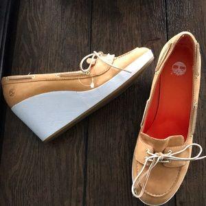 Timberland female wedge heels
